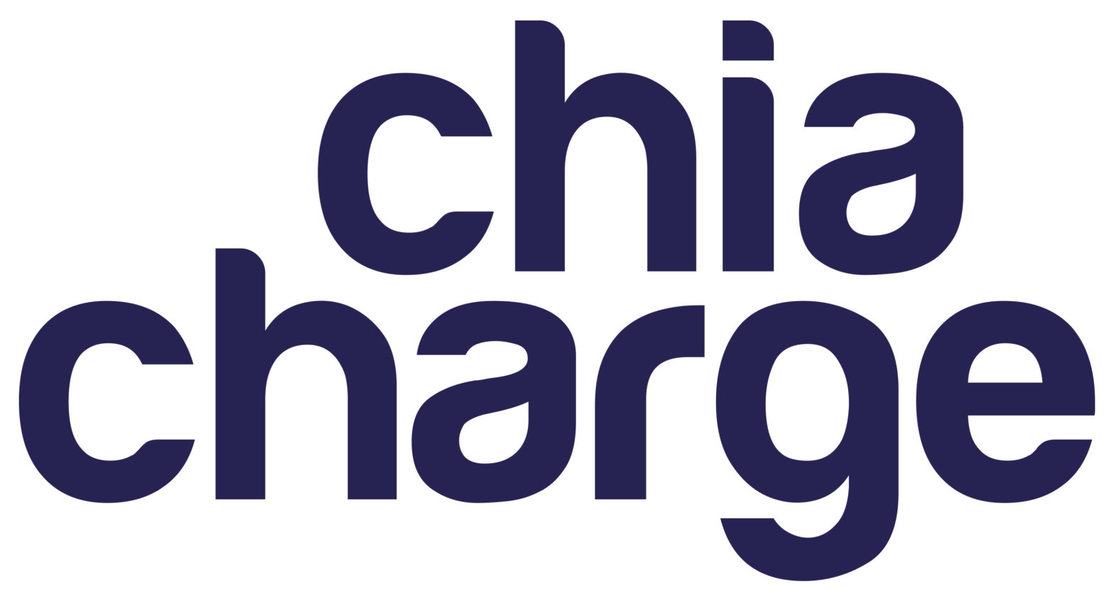 Charged by Chia!